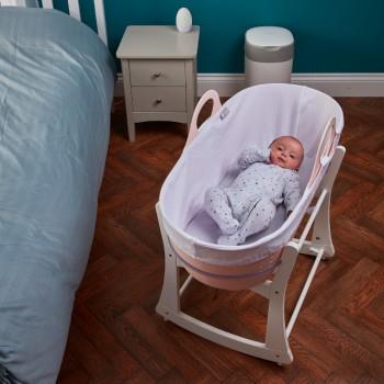 Tommee Tippee Alcofa de Bebé Portátil Sleepee com Suporte Rosa