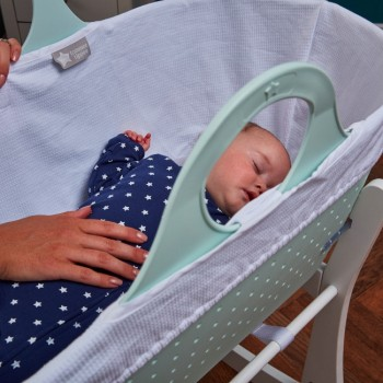 Tommee Tippee Alcofa de Bebé Portátil Sleepee com Suporte Verde