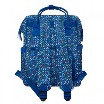 Tuc Tuc  Mochila Maternidade All In Azul Enjoy the Dream 06776