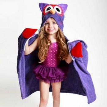 Zoocchini Toalha para Criança Coruja 11107