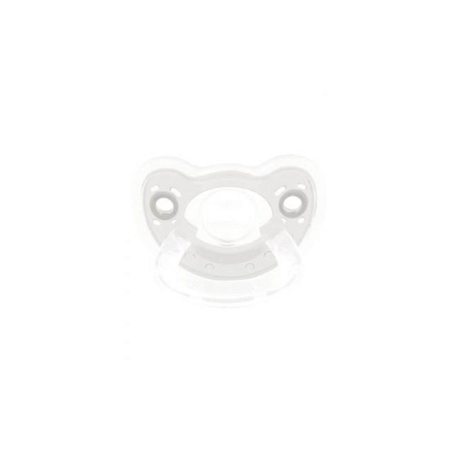 Bébé Confort Chupeta Natura Physio 100% Silicone Transparente 6-18m
