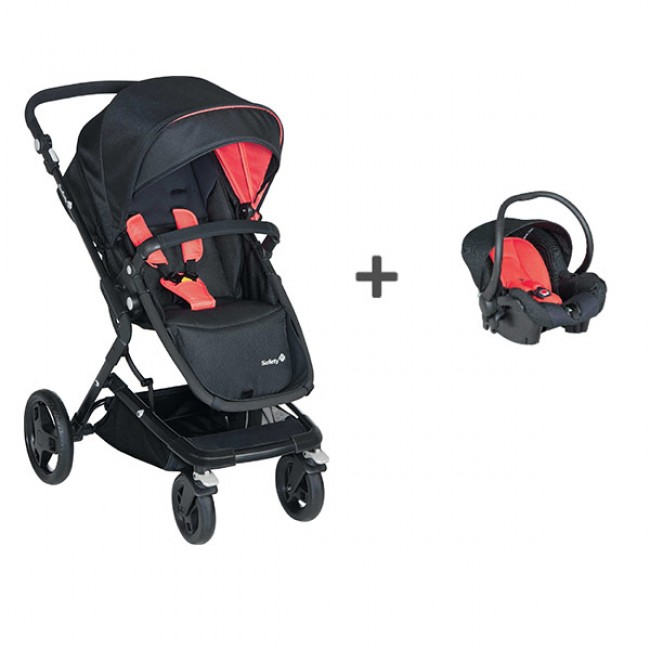 Pack Travel System Kokoon Red Neon