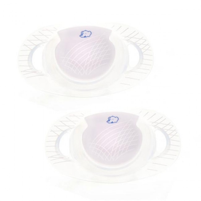 Bébé Confort 2 Chupetas Dental safe Silicone 12m+ Lilás