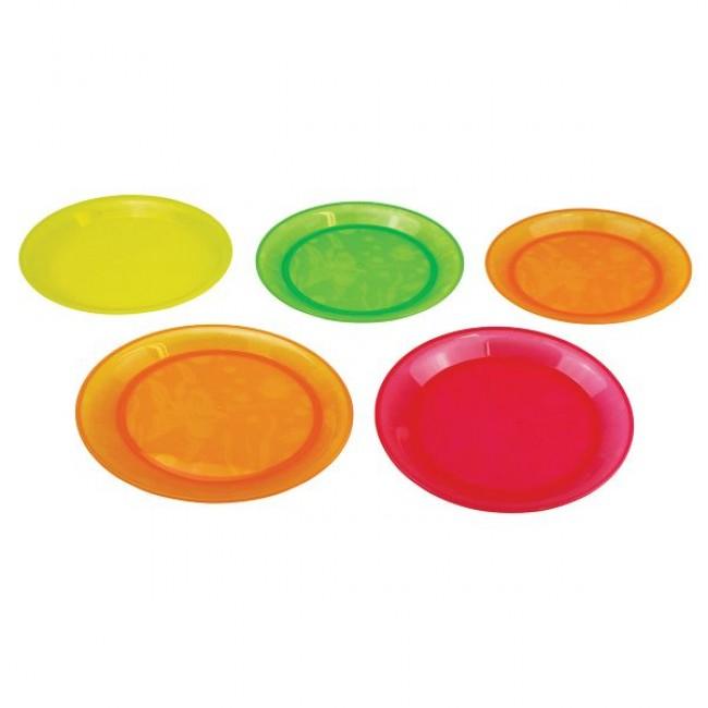 5 Pratos Multicolores Munchkin