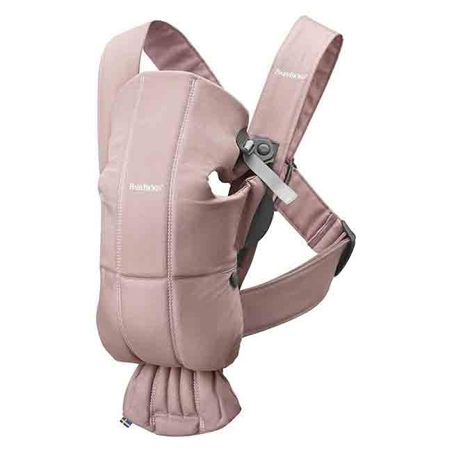 BabyBjörn Porta-Bebé Mini Dusty Pink 021014