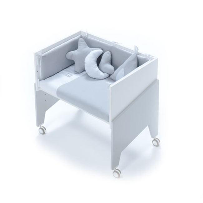 Alondra Berço 5 Etapas EQUO Grey C10-M7778 (não inclui têxteis e colchão)