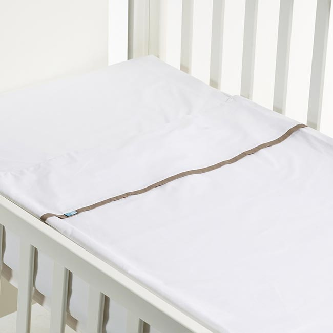B-MUM Safety Bed 60x120 Liso Bege S17PVBb