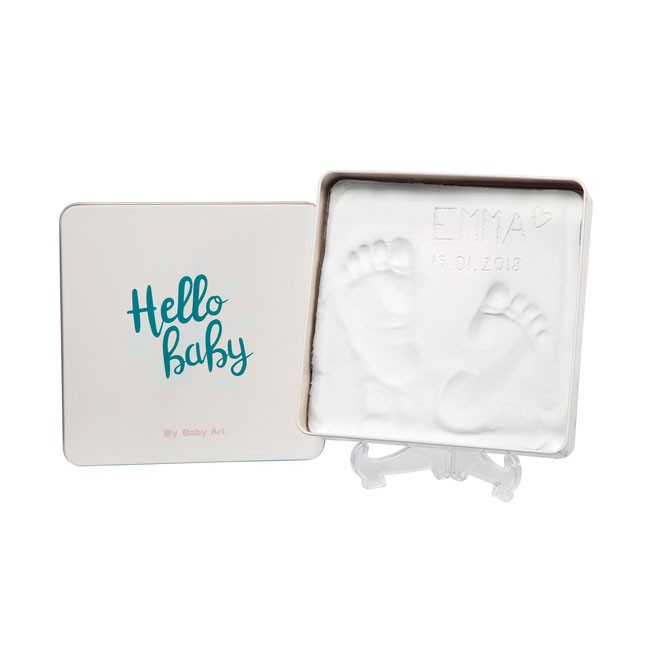 Baby Art Magic Box Quadrada Hello Baby