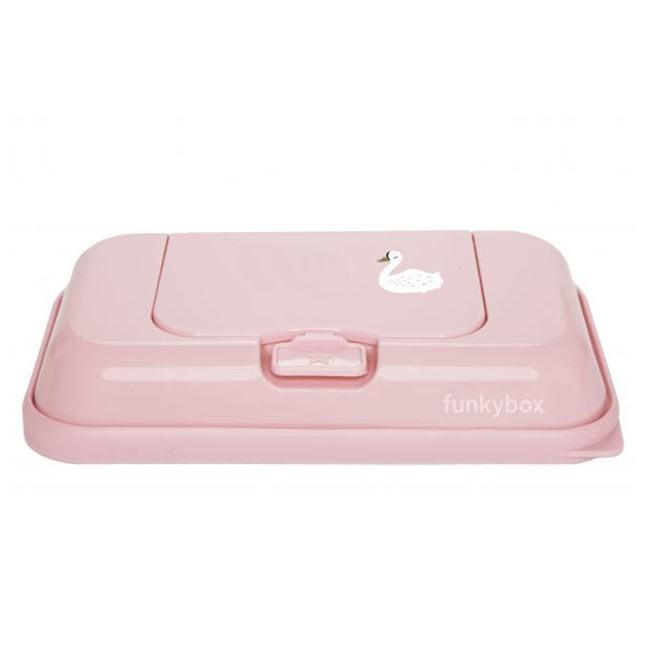 FunkyBox Caixa Toalhetes To Go Cisne Rosa FBTG29