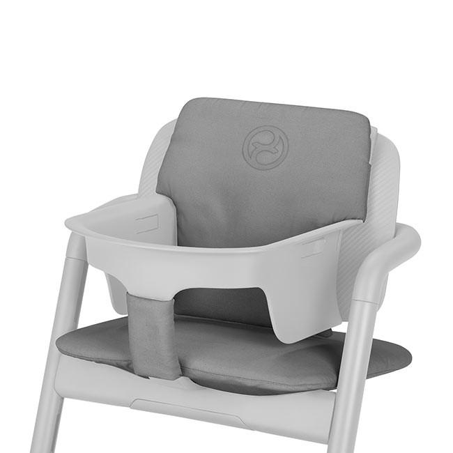 Cybex Redutor Confort Inlay Lemo Storm Grey  (cadeira LEMO vendida separadamente)