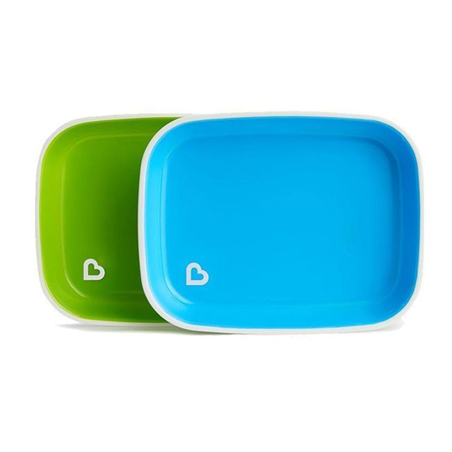 Munchkin 2 Pratos Splash Verde e Azul 012447