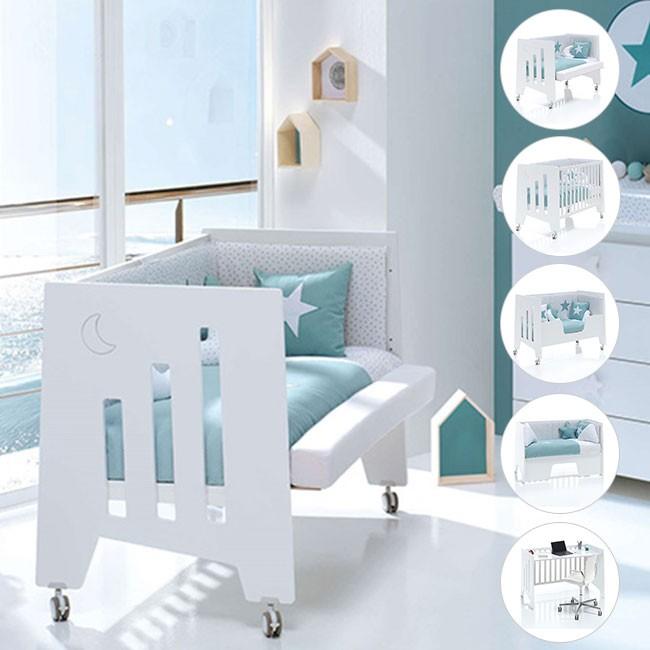 Alondra Cama 5 Etapas 60x120 OMNI Branco OMNI-K18-M7700