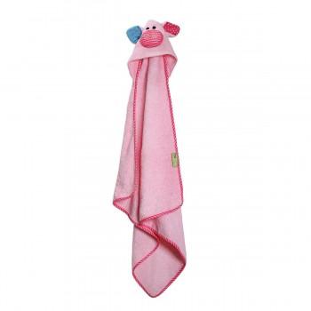 Zoocchini Toalha para Bebé Porquinha Pinky