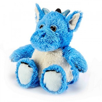 Warmies Plush Dragão Azul para Aquecer no Microondas 8700115