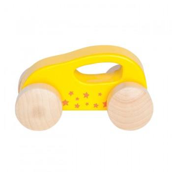 Hape Carrinho Little Auto Amarelo +10M E0057