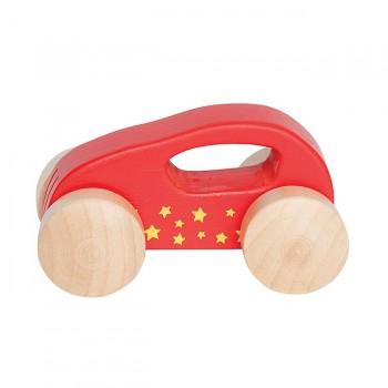 Hape Carrinho Little Auto Vermelho +10M E0057