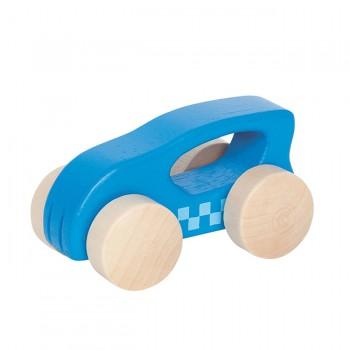 Hape Carrinho Little Auto Azul +10M E0057
