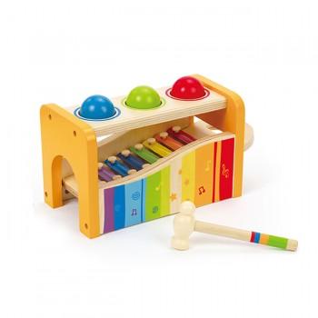 Hape Xilofone Colorido com Bolinhas E0305