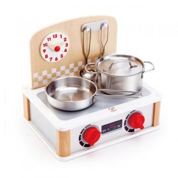 Hape Conjunto de Mini Cozinha e Utensilios +3 Anos E3151