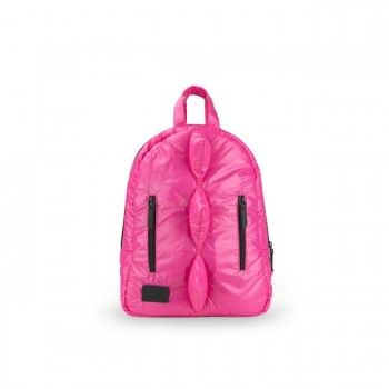 7AM Mini Mochila Dino Hot Pink