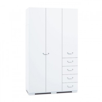 Alondra Armário Infantil Grande 3 Portas Joy Branco A359G-M7700