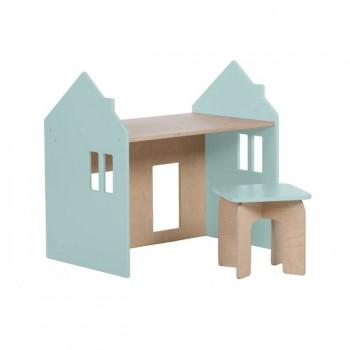 Alondra Conjunto Montessori Mesinha e Cadeira Menta U33MES-7755