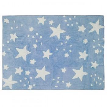 Aratextil Tapete Chuva de Estrelas Celeste 120x160