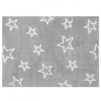 Aratextil Tapete Estrellas Cinza 120x160