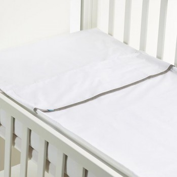 B-MUM Safety Bed 60x120 Liso Cinza S17PVCb