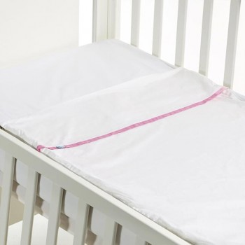 B-MUM Safety Bed 60x120 Liso Rosa S17PVRb