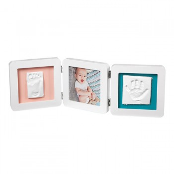 Baby Art Moldura 3 Faces My Baby Touch Branco