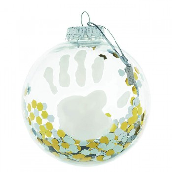Baby Art Bola Natal Transparente