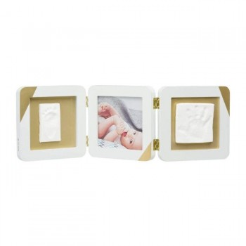 Baby Art Moldura My Baby Touch Gold Dipped Double Print