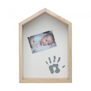 Baby Art Prateleira Personalizável Casa Madeira