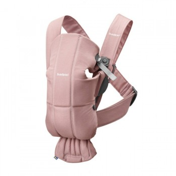 BabyBjörn Porta-Bebé Mini Dusty Pink