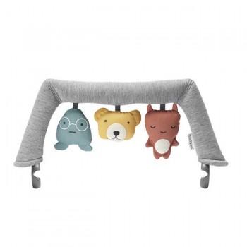 BabyBjörn Brinquedo Espreguiçadeira Amigos Suaves 080300