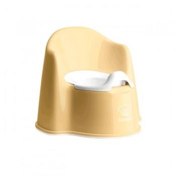 BabyBjörn Bacio Cadeira Amarelo Pastel/Branco 055266