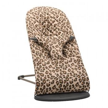 BabyBjörn Espreguiçadeira Bliss Algodão Bege/Leopardo 006075