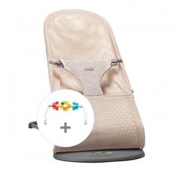 BabyBjörn Pack Espreguiçadeira Bliss Air Rosa
