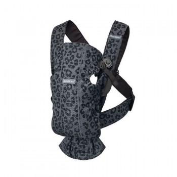 BabyBjörn Porta-Bebé Mini 3D Mesh Antracite/Leopardo 021078
