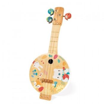 Janod Banjo Pure de Madeira +3 Anos J05160