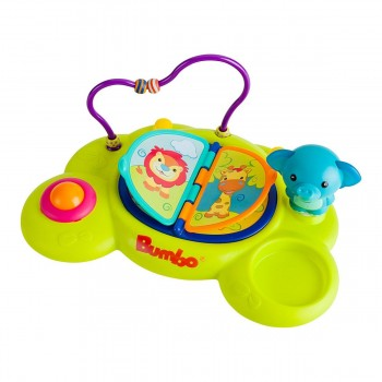 Bumbo Playtop Safari Tabuleiro de Atividades