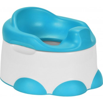Bumbo Step'n Potty Bacio com Degrau Azul