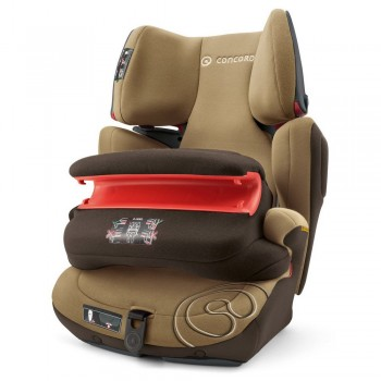 Concord Cadeira-Auto Transformer PRO Isofix 1-2-3 Walnut Brown