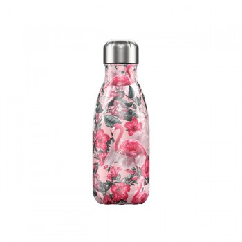 CHILLY'S Garrafa Isotérmica 260ml Flamingo Tropical CB05TFAM