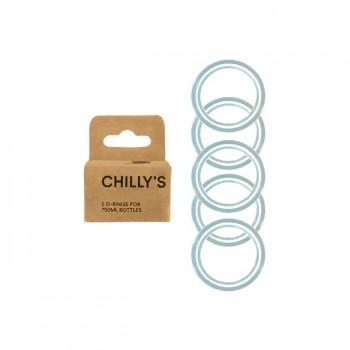 CHILLY'S Selos Herméticos de Substituição 750ml B750RINGBOX
