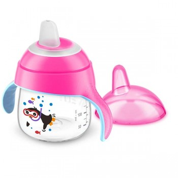 Philips Avent Magic Cup Bico Macio 200ml Rosa