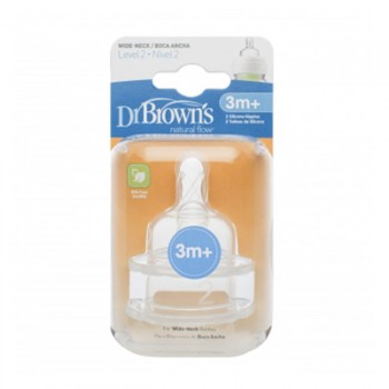 Dr. Brown's Tetina Options 3M Plus 2pk DRB-ACC02