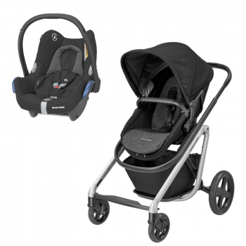 Bébé Confort Duo Lila Nomad Black + Cabriofix Essential Black