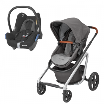 Bébé Confort Duo Lila Nomad Grey + Cabriofix Essential black